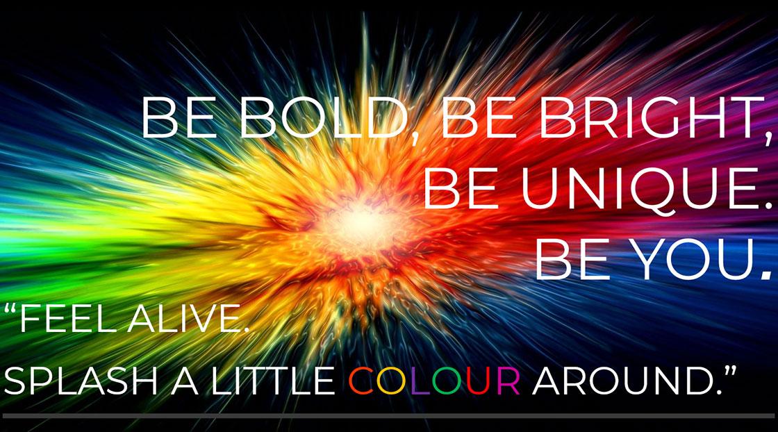 Colourful Eyewear – Be Unique